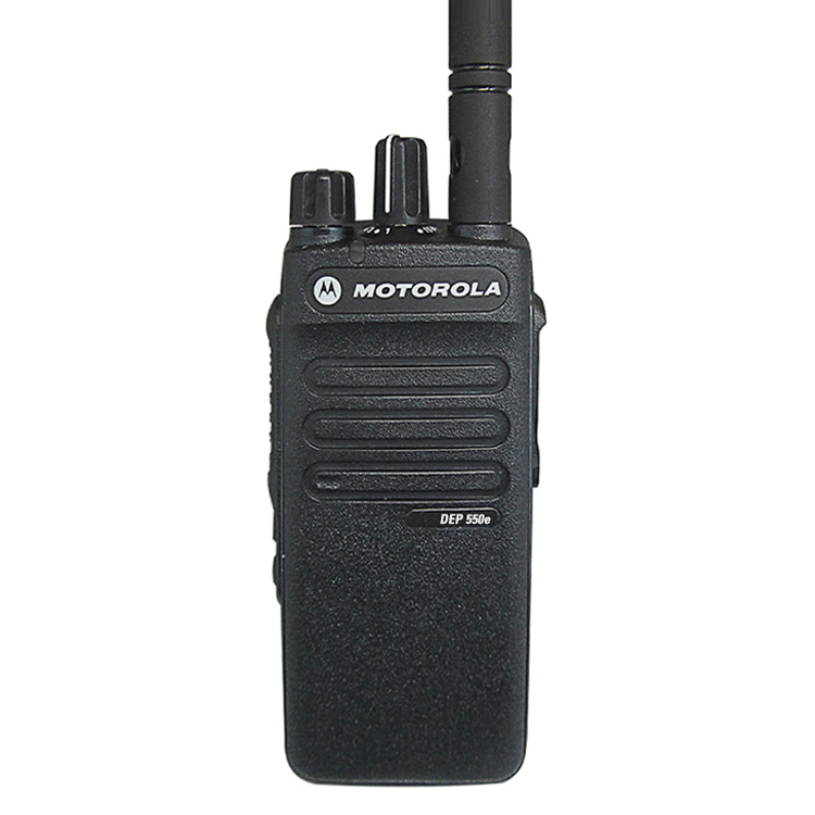 Walkie Talkie VHF DEP550e DMR handheld wireless <strong>communication</strong> two way radio Both Analog and Digital models