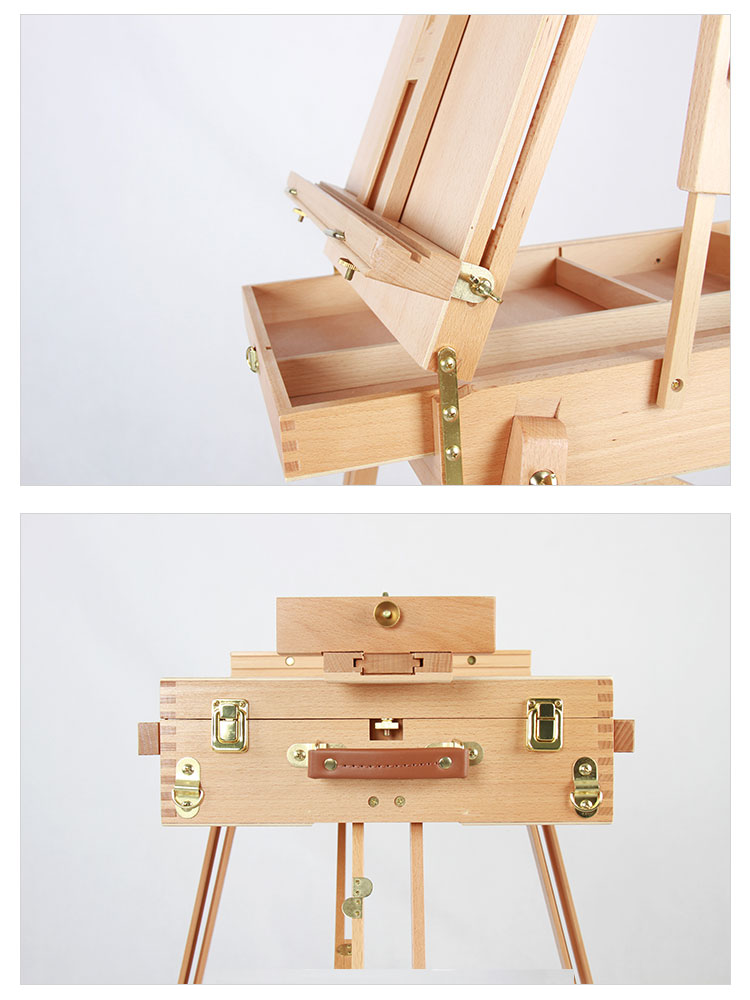 High Quality Convenient Drawing Wooden French Easel Box