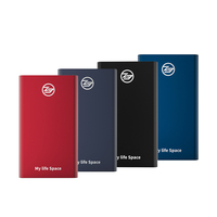 KingSpec Type-c Interface Compatible with USB3.1 Gen USB 3.0 USB 2.0 SSD Portable 64GB External Hard Drive Disk