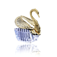Sweet Wedding Gift Favor Romantic Swan Shape Candy Box