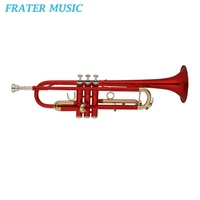 Good quality Red / black / blue / green / pink / purple Colorful Trumpet (JTR-221)