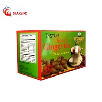 FDA Certified Instant Honey Ginger Tea Powder, Honey Tea, Lemon Tea