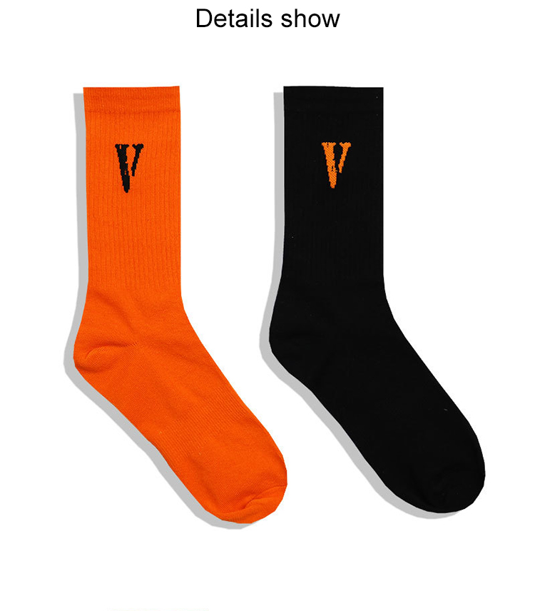 OEM wholesale custom solid color cotton printing custom design printed logo funny sports man  socks men