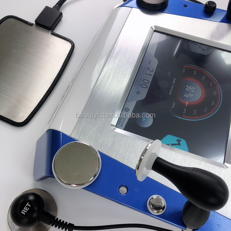 Lingmei Tecar Lifting Machine Portable Diathermy RET CET Tekar Indiba Machine For smart tecar