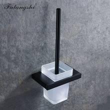 Falangshi квадратный набор аксессуаров для ванной комнаты, вешалка для полотенец, держатель для бумаги, держатель для туалетной щетки, настенны...(Китай)