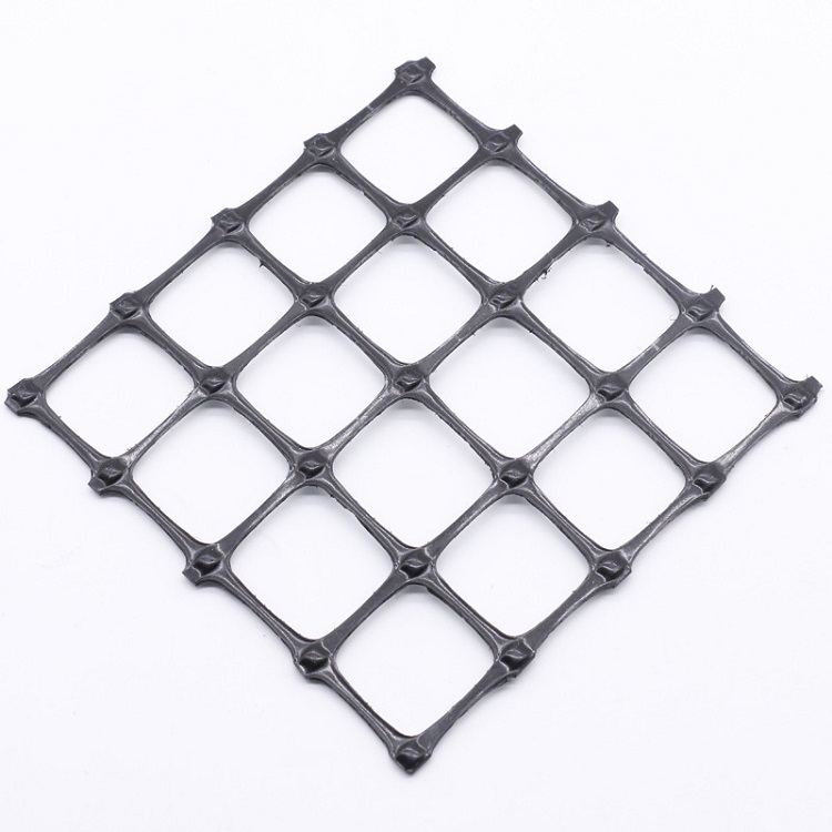 Pp Biaxial Reinforcement Earthwork Geogrid plastic Biaxial geogrid