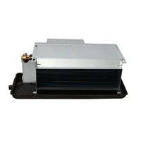 chilled water duct fan coil unit for wall mount
