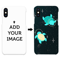 Light Weight Customized Hard Plastic Cell Mobile Phone Case Back Cover For Iphone X Xs Max