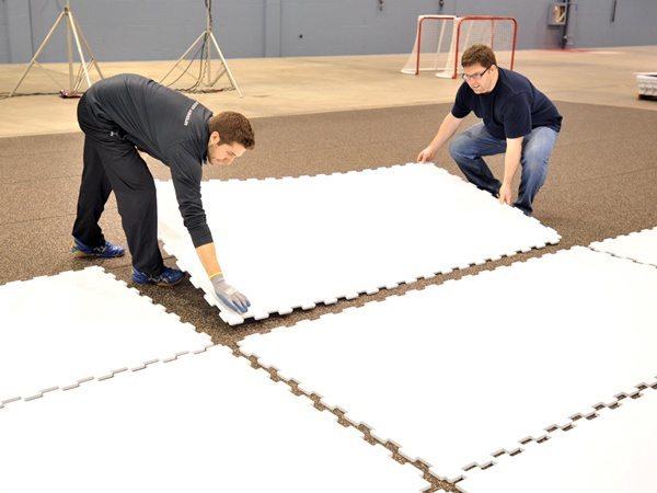 Smooth Surface Hdpe Sheet Artificial Plastic Synthetic Ice Rink