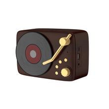 <span class=keywords><strong>Altoparlante</strong></span> Senza Fili di Bluetooth Portatile Altoparlanti con Audio Hd E Basso Old School Retro <span class=keywords><strong>Cd</strong></span> Record di Radio di Altoparlanti per Home Theater
