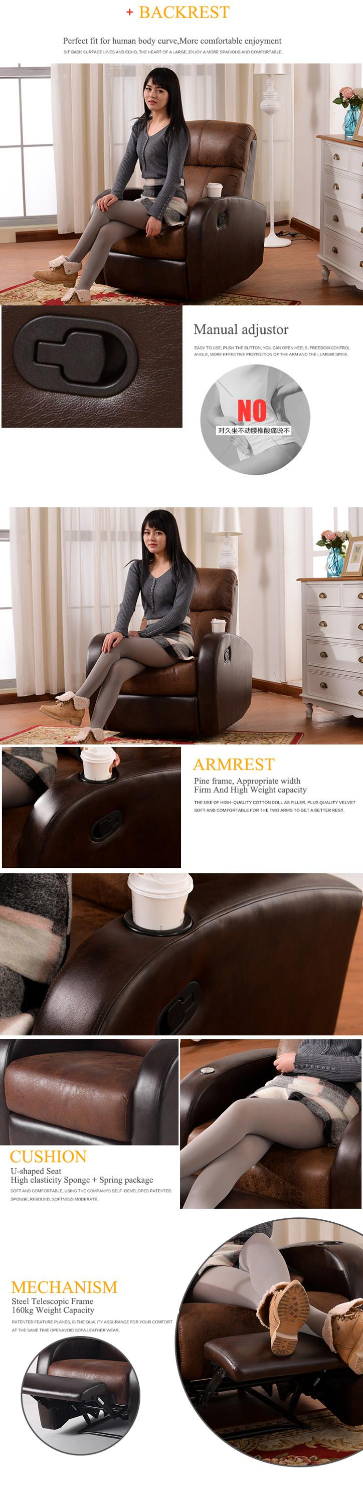 recliner chesterfield sofa