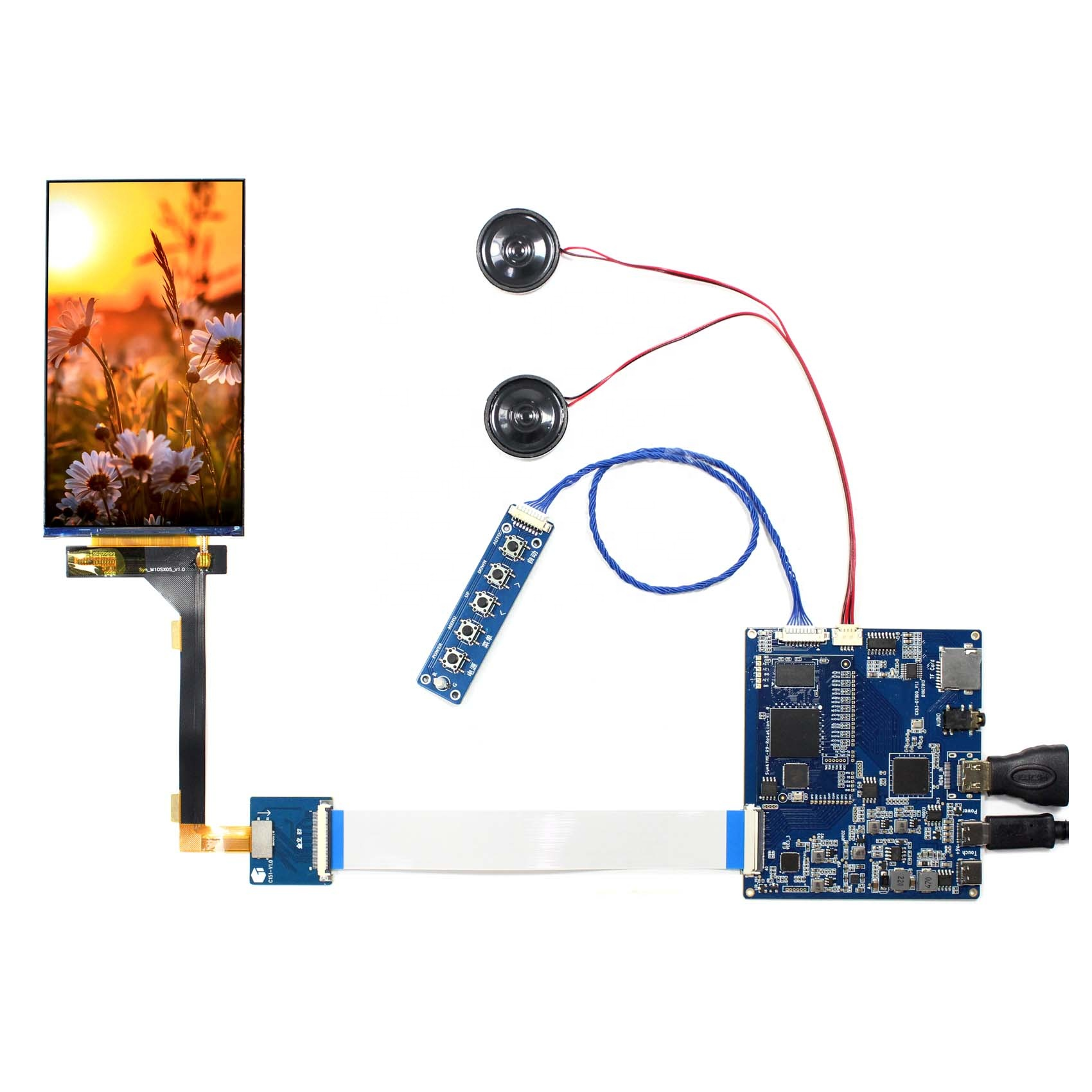 <strong>TF</strong> Card Audio HDMI LCD Controller Board 5.5 in M10SX05 1080X1920 LCD Screen tft lcd display panel