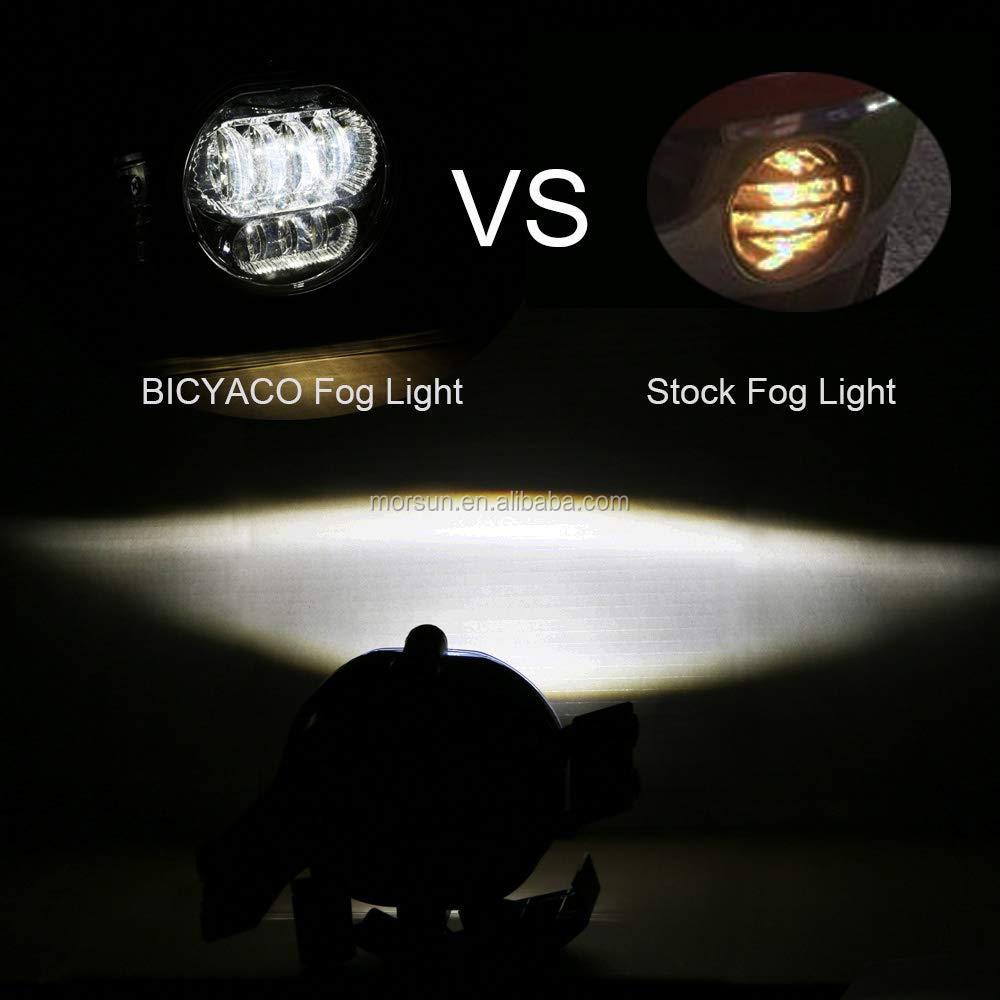 Dot LED Bumper Cahaya untuk Dodge Ram Kabut Lampu Penggantian