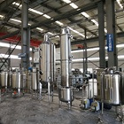 Low Temperature Ethanol Recovery Machine Hemp Oil Extraction Machinery Processing Line