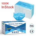 Manufacturer CE 3 Ply 3ply Earloop Face Mask Disposable Facemask / Medical Surgical Face Mask