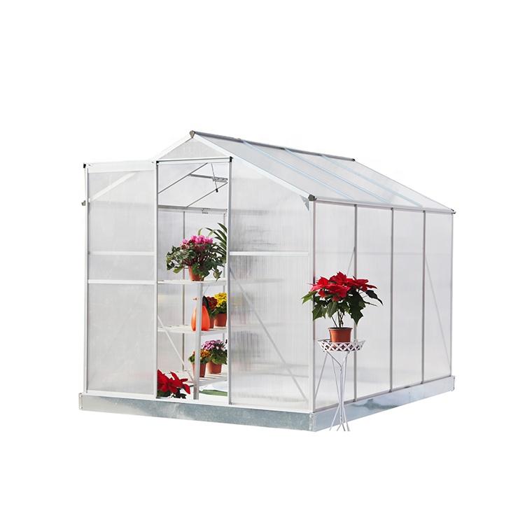 green house Hot sale single sliding door aluminum alloy winter garden sun house