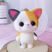 Маленькая милая мягкая игрушка игрушки Kawaii Мини кошки украшения игрушки для девочек маленькие изысканные куклы лучшие подарки на Рождеств...(Китай)