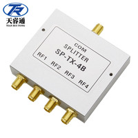1.5-8GHz SMA 4 Ways Power Divider/Combiner SMA Power Splitter 50W 50ohm