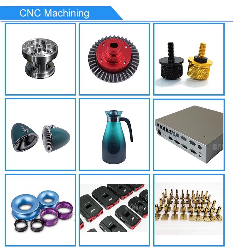 Plastic rapid prototype production fabrication mock up anodizing cnc prototype