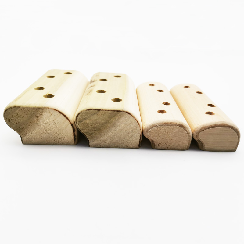 Custom Make Bouldering Gym Wooden Hangboard Indoor Rock Climbing Grip Training Fingerboard