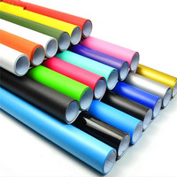Cheap vinyl sticker 3m permanent self adhesive waterproof vinyl rolls for advertising