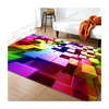 Anti Slip Modern Large Luxury Polyester Microfiber 3d Custom Logo Washable Bedroom Flooring Printed Rugs Carpet For Living Room
