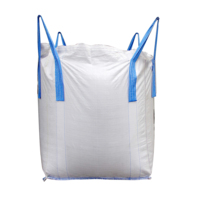 Wholesale 1 ton PP bulk jumbo big FIBC bag packing for grain ore and sand safety factor 5:1