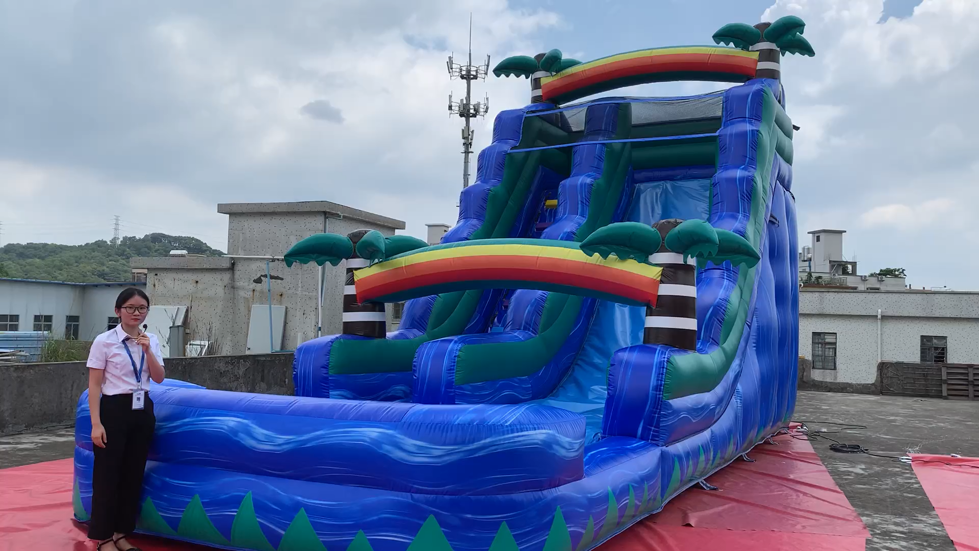 Outdoor Water Slides For Sale Commercial Cheap Inflatable ...