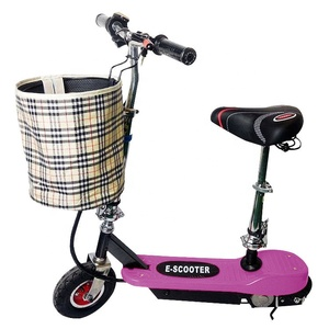 Two wheel foldable  electric  scooter folding kick starter fashionable kick scooter for foot pedal