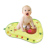 New Arrival Baby Stimulation Growth Play Activity Center Avocado Shape Infant Toddler Inflatable Tummy Time Water mat