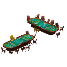 Atacado 1.8m de Borracha Barato Mini Pano De <span class=keywords><strong>Poker</strong></span> Mesa de <span class=keywords><strong>Poker</strong></span> Blackjack Casino Layout Adequado