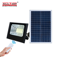 ALLTOP Outdoor garden projector lamp smd 50w 100w 150w rechargeable solar led flood light