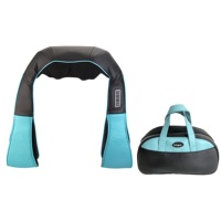 OEM ODM New best neck and shoulder heated kneading massager belt back neck and back massage with CE & U L & KC adapter