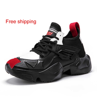 Free shipping Hot Sell Fashion Tenis Trainers Footwear Men Casual Shoes High Top 2019 New Outdoor Walking Shoes Sneakers