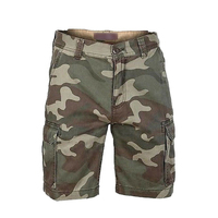 Men's Cargo Shorts Casual Lounge Shorts Multi Pocket Outdoor Wear Camo Cargo Shorts