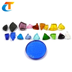 Sell coloured crystal casting glass for remelting