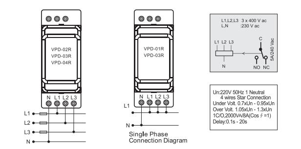 Wiring Phase Three Diagram Alirconditiong