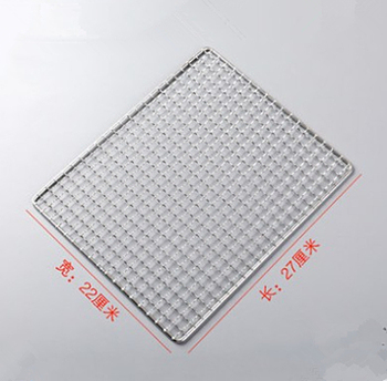 High quality portable silver stainless steel grill bbq wire mesh with factory price