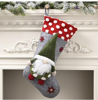 Traditional Christmas Stockings Set Christmas Stockings Rustic Family Xmas Holiday Party Tree Vintage Home Decorations