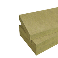 Sound insulation rock wool board roofing insulation Rock Wool Outside Surface Borad