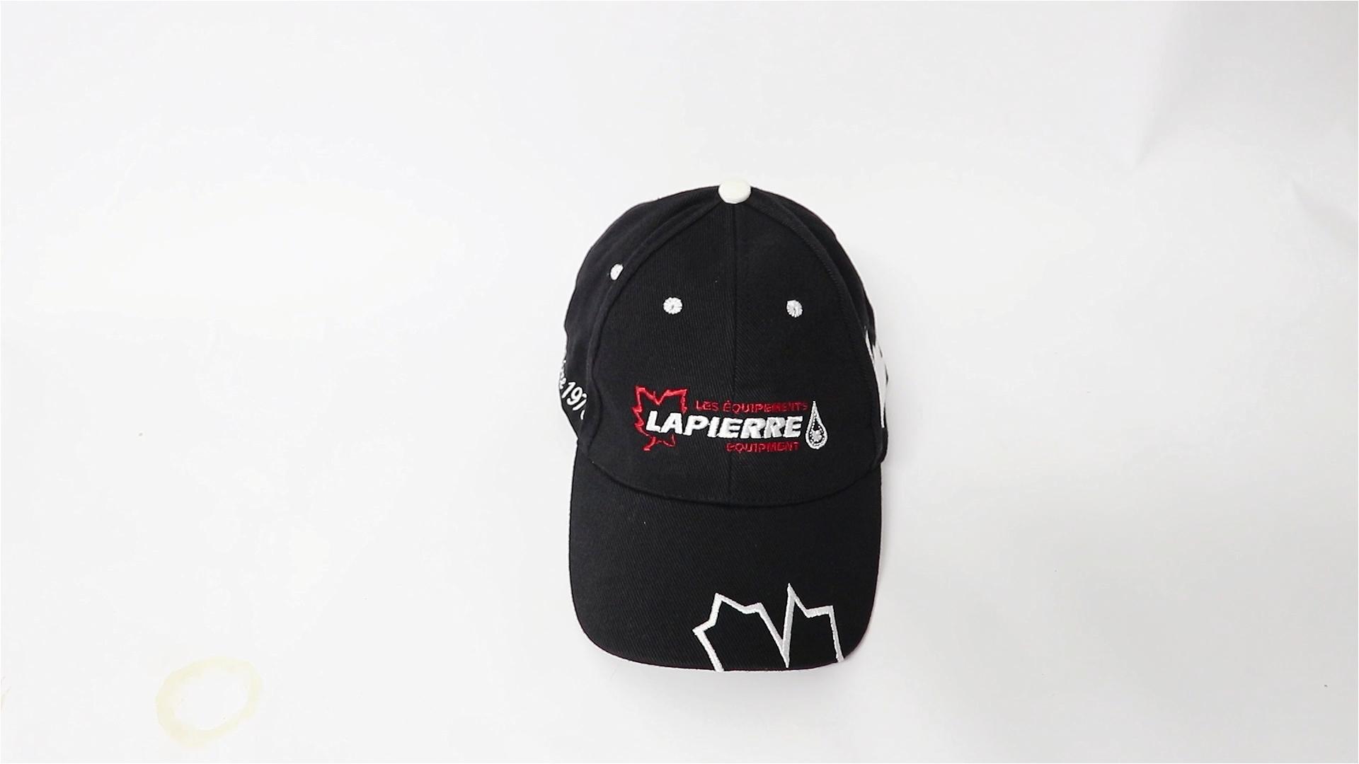 Promo custom  6-panel plain baseball cap hat