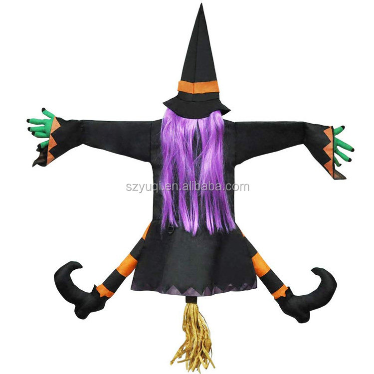 2019 new designed large witch halloween decoration