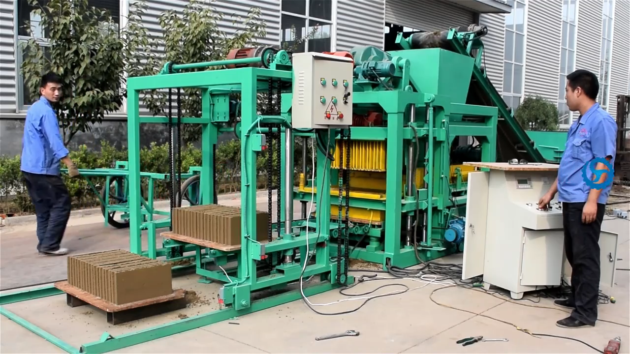 4-25A block making machine widely used concrete block making machine for sale in usaqt