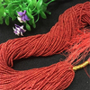 The cheapest bamboo coral round beads optimized red DIY fashion jewelry