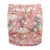 OEM Naughty Cartoon Organic Bamboo Cotton Reusable All In One New Born Prefold Cloth Diapers for Baby Children