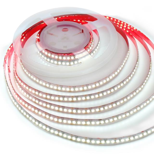Hot sale 2020 LED strip light DC12V SMD2835-180led 24-26lm 15W/M 5m  double pcb non-waterproof IP20