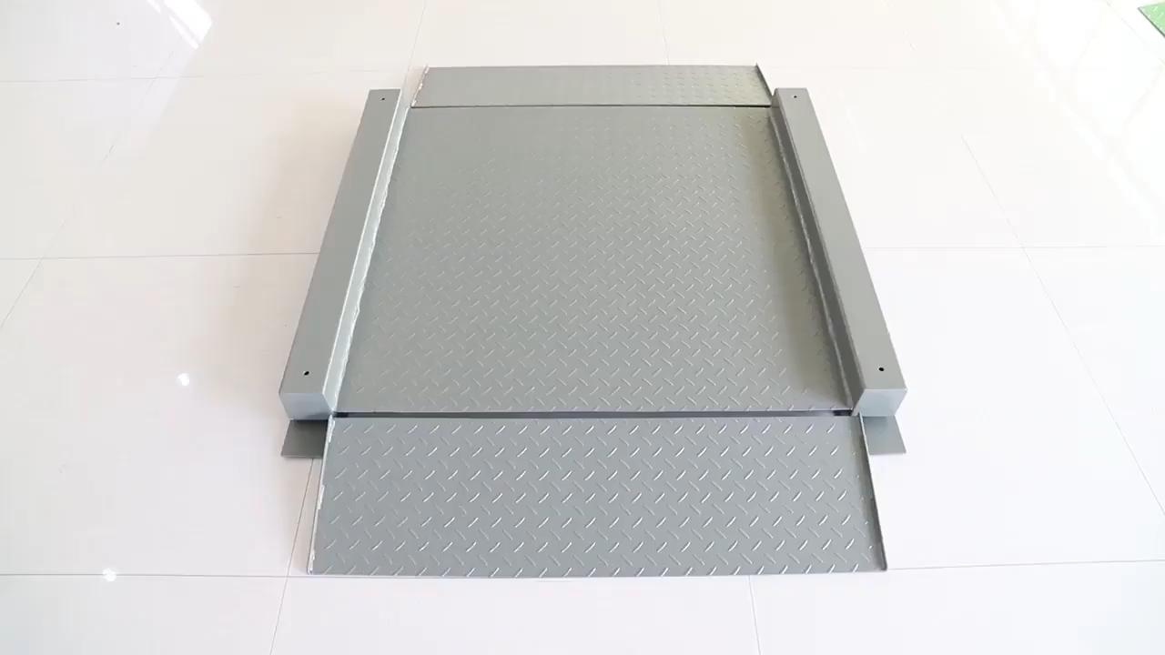 2 тонны нержавеющие напольные весы с loadcell