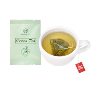 organic green tea bag Customizable packaging pyramid tea bag and tea bag packaging
