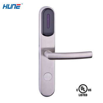 high security magnetic card access control system hotel door lock
