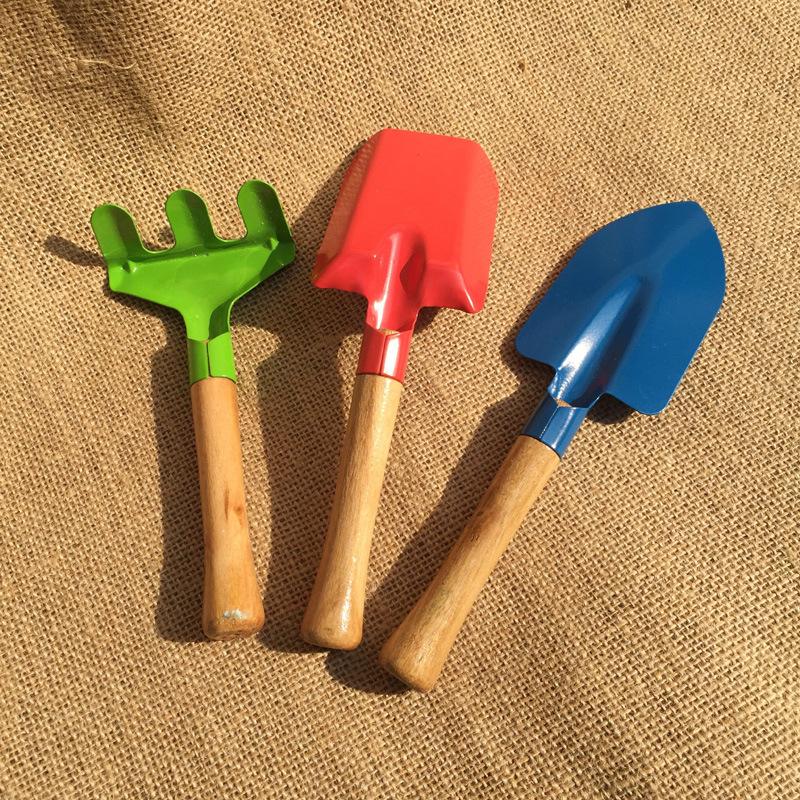 Stokta. 3 Set çocuk bahçe aracı seti ve çocuk bahçe aletleri